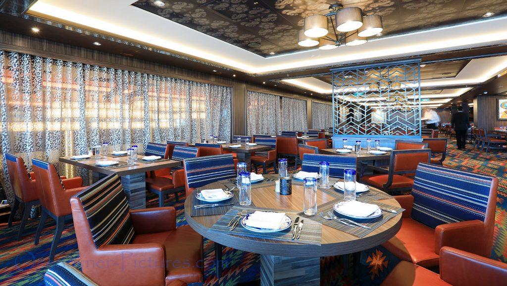 Los Lobos Restaurant Norwegian Bliss. / Foto: Oliver Asmussen/oceanliner-pictures.com