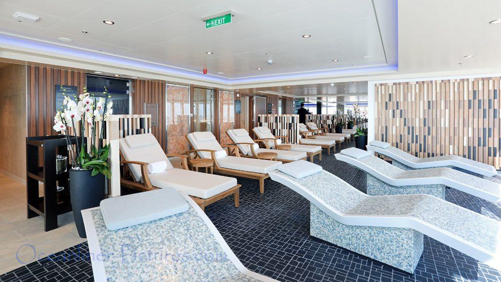 Mandara Spa Norwegian Bliss. / Foto: Oliver Asmussen/oceanliner-pictures.com