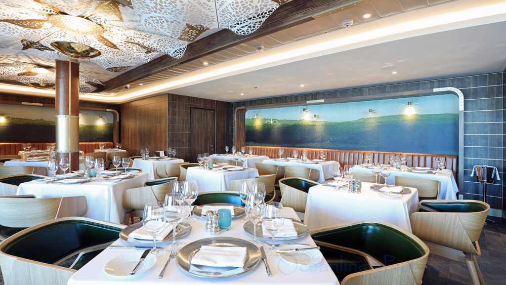 Ocean Blue Restaurant Norwegian Bliss. / Foto: Oliver Asmussen/oceanliner-pictures.com