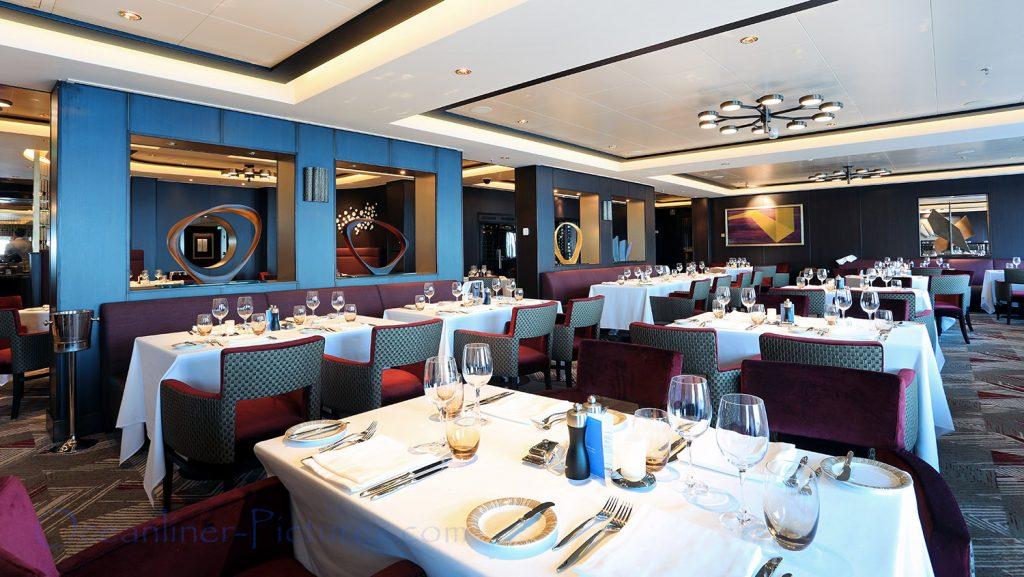 Savor Restaurant Norwegian Bliss. / Foto: Oliver Asmussen/oceanliner-pictures.com