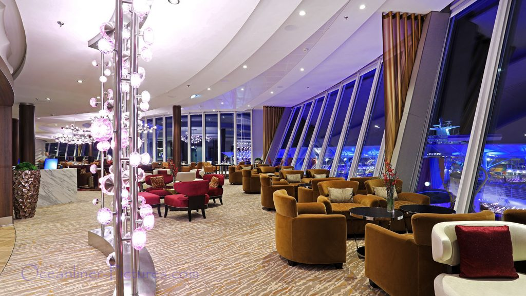 Suite Lounge Symphony of the Seas. / Foto: Oliver Asmussen/oceanliner-pictures.com