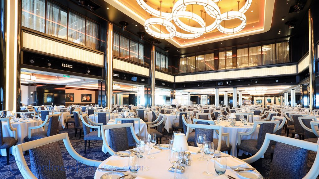 The Manhattan Room Restaurant Norwegian Bliss. / Foto: Oliver Asmussen/oceanliner-pictures.com