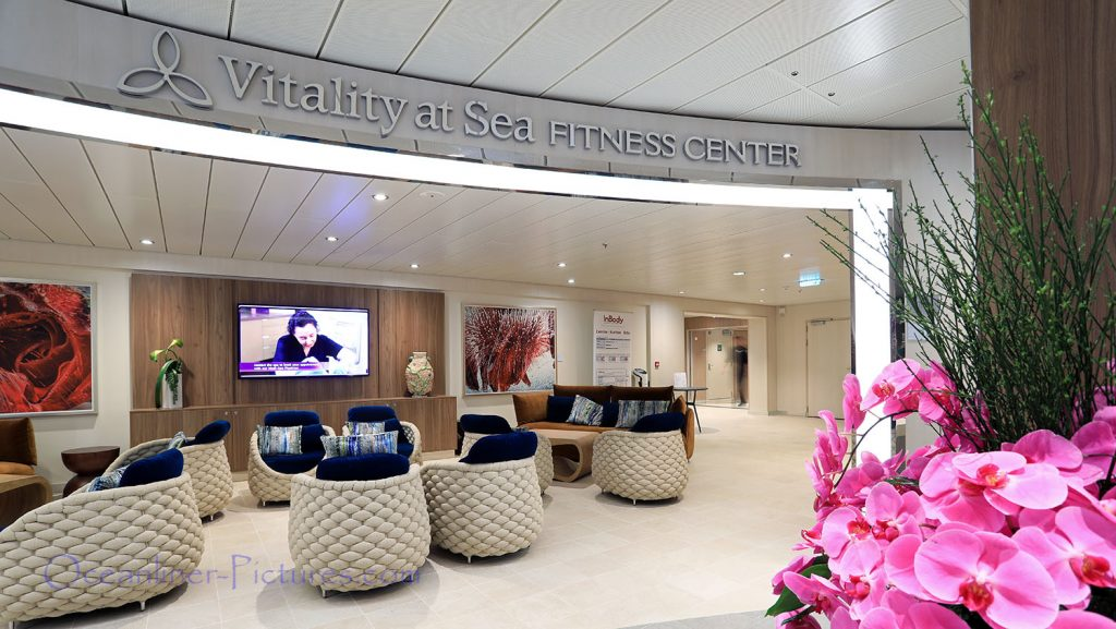 Vitality at Sea Spa and Fitness Center Symphony of the Seas. / Foto: Oliver Asmussen/oceanliner-pictures.com