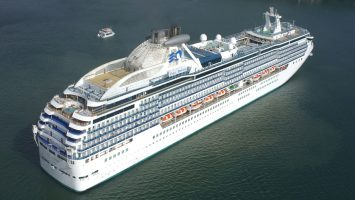 Die Coral Princess von Princess Cruises. Foto: Princess Cruises