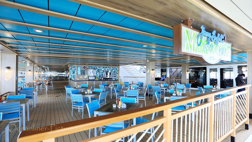 Jimmy Buffets Margaritaville at sea Norwegian Breakaway. / Foto: Oliver Asmussen/oceanliner-pictures.com