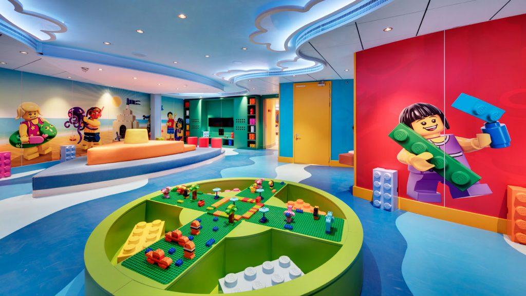 Lego Island an Bord. Foto: MSC Cruises