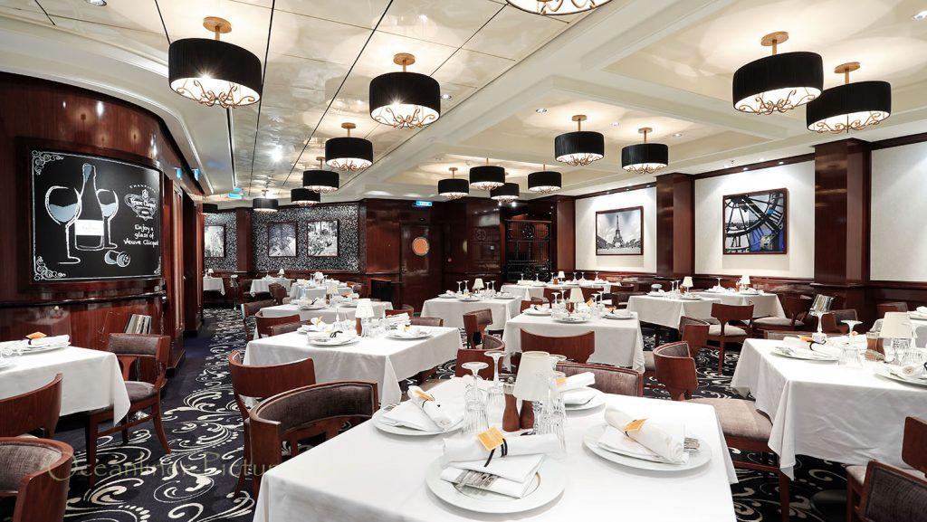 Le Bistro French Restaurant Norwegian Breakaway. / Foto: Oliver Asmussen/oceanliner-pictures.com