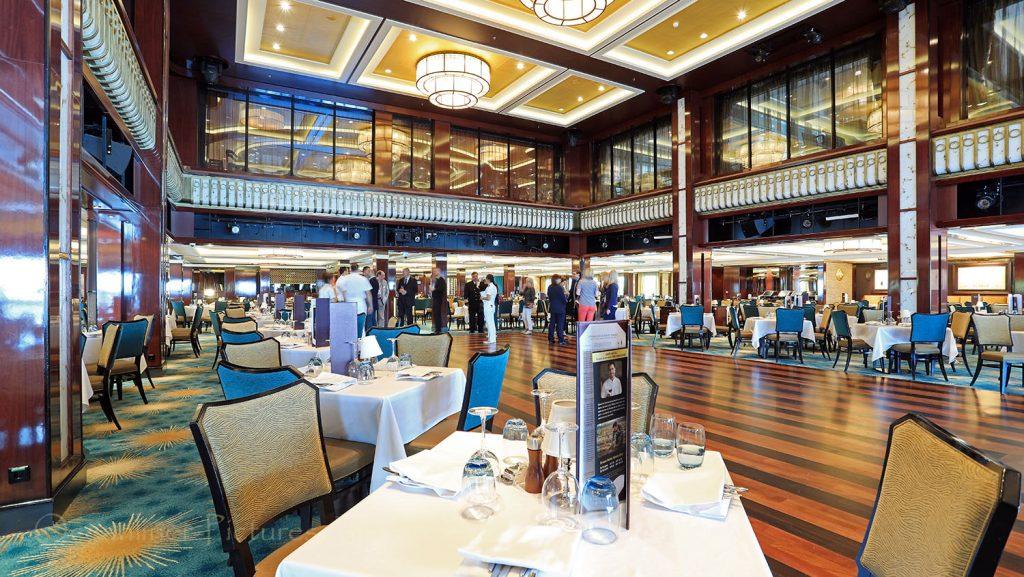 Manhattan Room Restaurant Norwegian Breakaway. / Foto: Oliver Asmussen/oceanliner-pictures.com