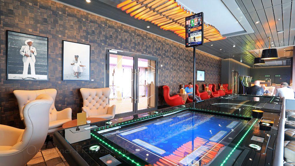 Mein Schiff 1 Casino und Lounge. / Foto: Oliver Asmussen/oceanliner-pictures.com