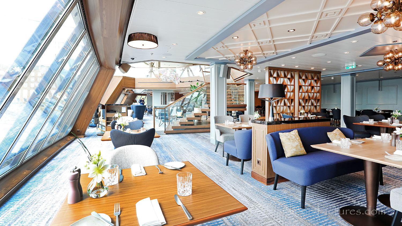 stilvoll gestaltete esszimmer stehen hoch im trend, schiffsportrait: tui cruises neue mein schiff 1 - cruisestart.de, Innenarchitektur