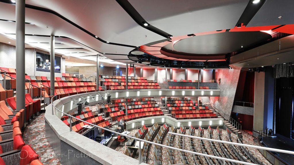 Mein Schiff 1 Theater. / Foto: Oliver Asmussen/oceanliner-pictures.com