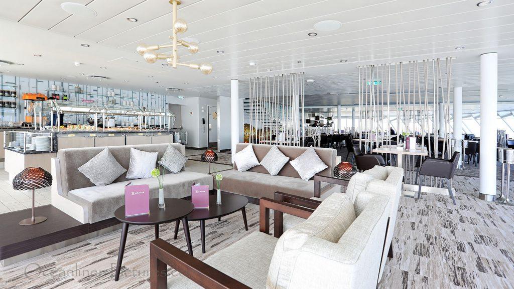 Mein Schiff 1 X-Lounge. / Foto: Oliver Asmussen/oceanliner-pictures.com