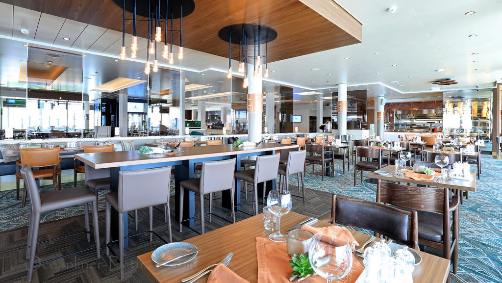 Mein Schiff 1Surf and Turf Steakhouse. / Foto: Oliver Asmussen/oceanliner-pictures.com