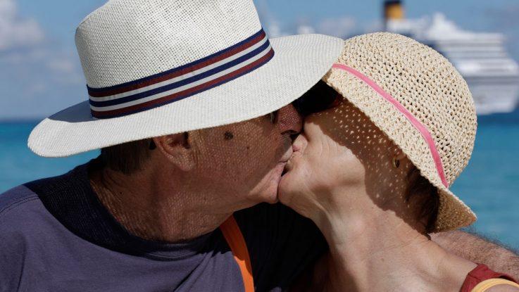 Oliviero Toscani fotografiert Gäste für Costa Kreuzfahrten. Foto: Costa Crociere