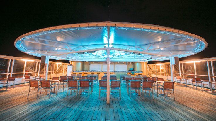 An Bord der MS Albatros erstrahlt es im neuen Glanz, wie hier die Kopernikus Bar. Foto: Phoenix Reisen