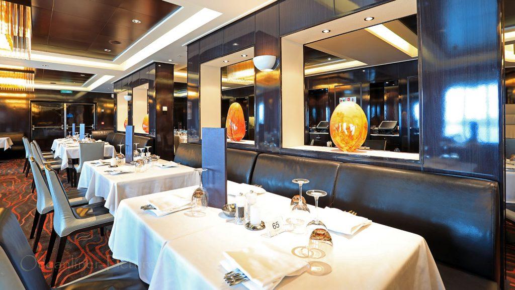 Savor Restaurant Norwegian Breakaway. / Foto: Oliver Asmussen/oceanliner-pictures.com