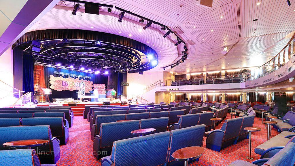 Teatro MS Zenith. / Foto: Oliver Asmussen/oceanliner-pictures.com