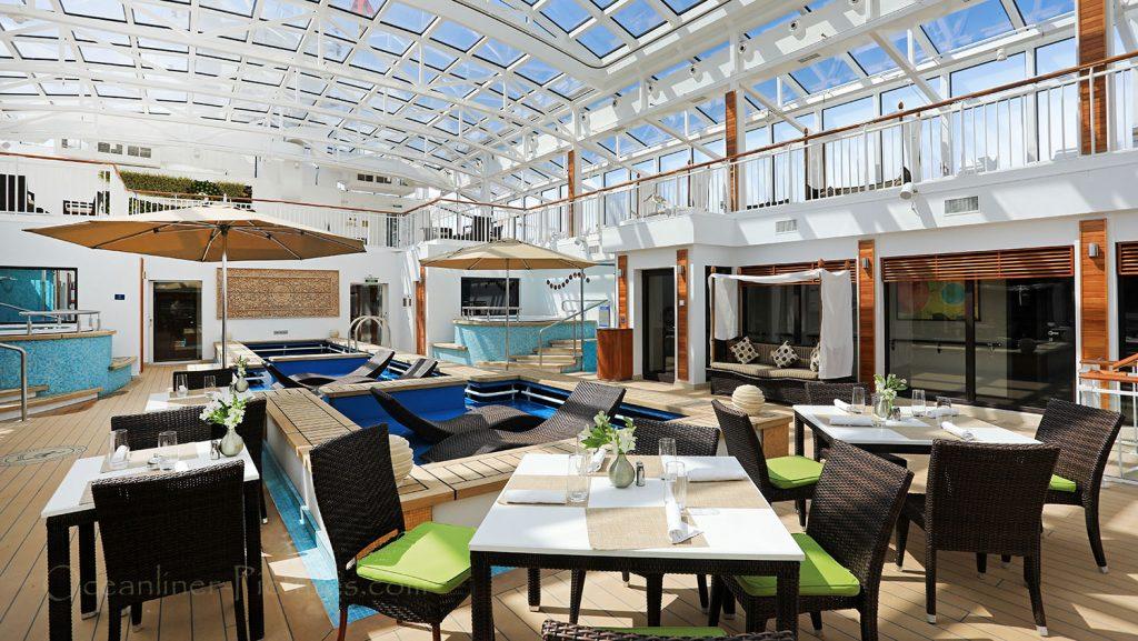 The Haven Courtyard Norwegian Breakaway. / Foto: Oliver Asmussen/oceanliner-pictures.com