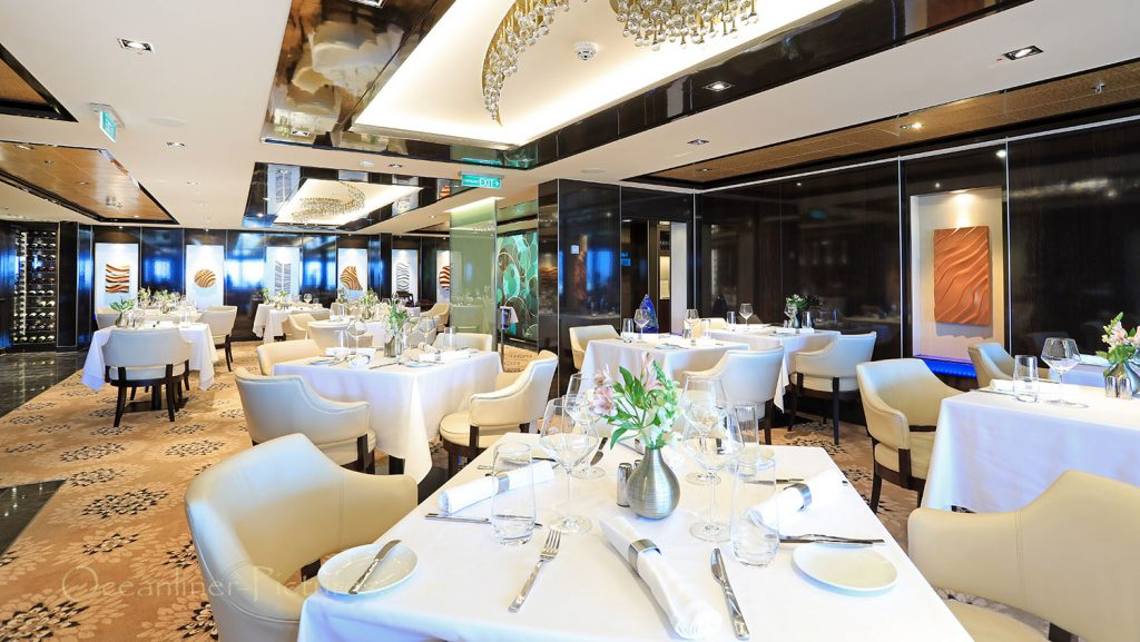 The Haven Restaurant Norwegian Breakaway. / Foto: Oliver Asmussen/oceanliner-pictures.com