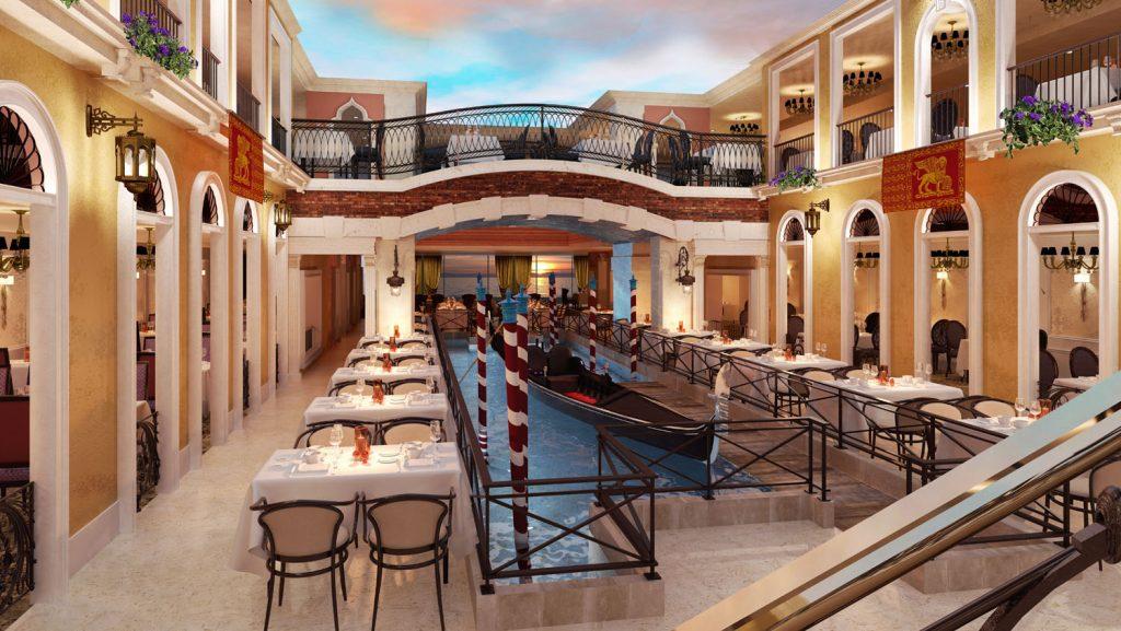 Das Restaurant Canal Grande. Foto: Costa Kreuzfahrten