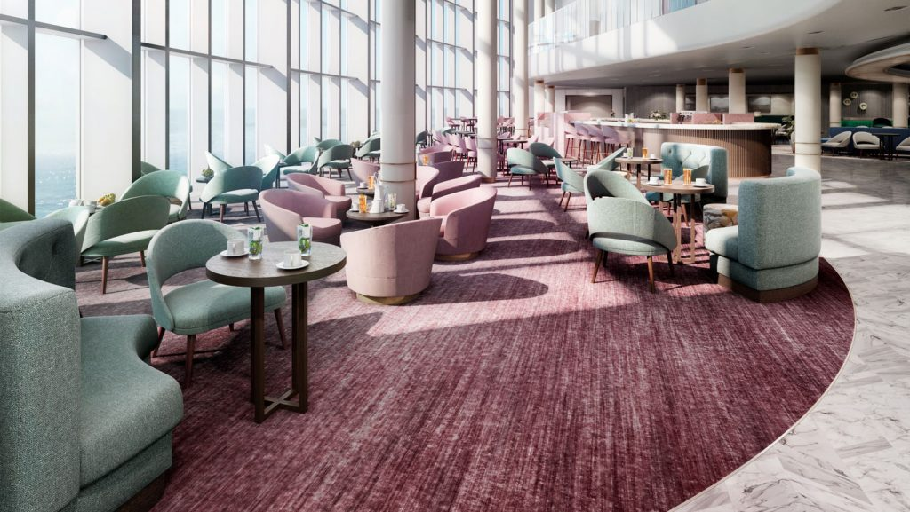 Blick in die Coffee Bar. Foto: P&O Cruises