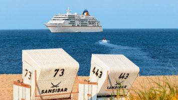 MS Europa meets Sansibar 2018. Foto: Hapag-Lloyd Cruises