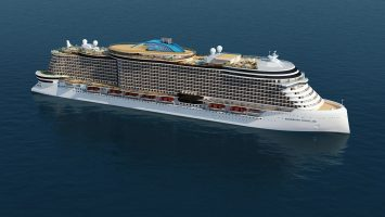Zwei weitere Schiffe der Leonardo-Klasse. Foto: Norwegian Cruise Line