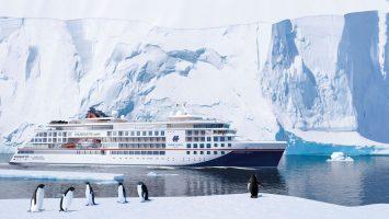 Die Flotte der Hapag-Lloyd Cruises erhält weiteren Zuwachs im Expeditionssegment. Das neue Expeditionsschiff wird Hanseatic spirit heißen. Foto: Hapag-Lloyd Cruises