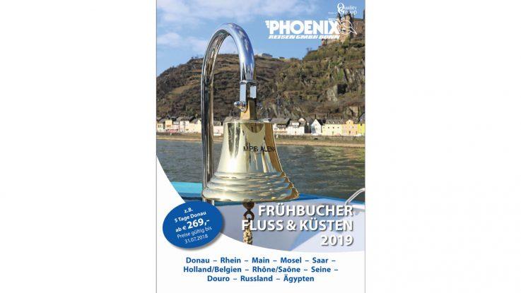 Der Titel des Katalog 2019. Foto: Phoenix Reisen