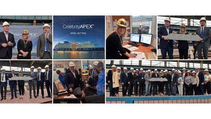 Stahlschnitt der Celebrity Apex. Foto: Celebrity Cruises