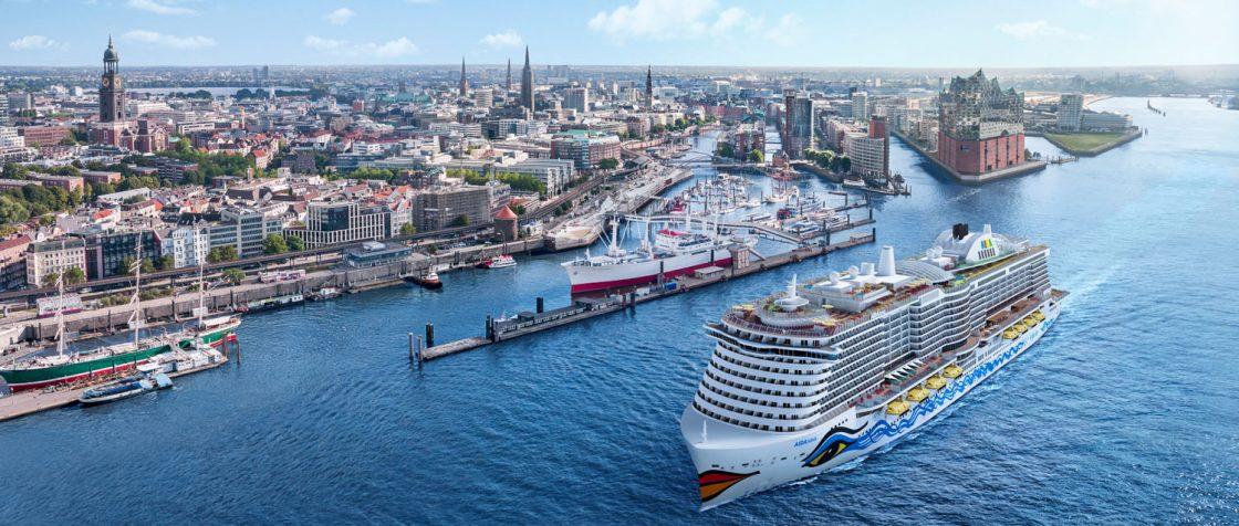 Mit AIDAnova wird AIDA Cruises im November 2018 das weltweit erste Kreuzfahrtschiff in Dienst stellen, das zu 100 Prozent mit emissionsarmen Flüssiggas (LNG) betrieben werden kann. Foto: AIDA Cruises