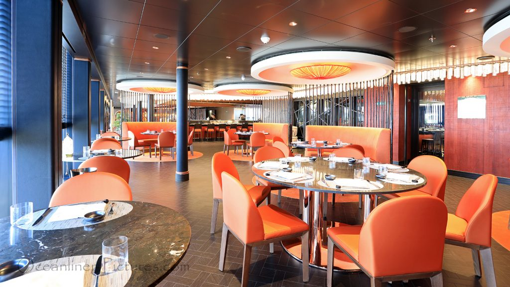 Asian Market Kitchen by Roy Yamaguchi MSC Seaview. / Foto: Oliver Asmussen/oceanliner-pictures.com