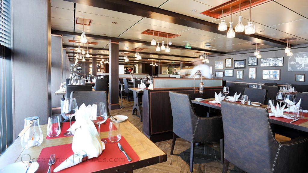 Butchers Cut Steak Restaurant MSC Seaview. / Foto: Oliver Asmussen/oceanliner-pictures.com
