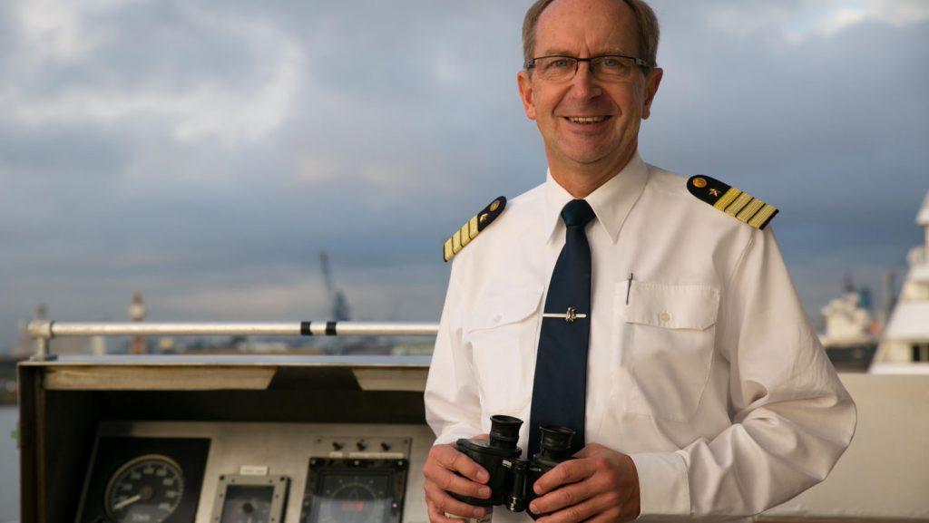 Kapitän Natke. Foto: Hapag-Lloyd Cruises / Susanne Baade