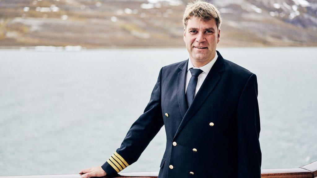 Kapitän Engeldrum. Foto: Hapag-Lloyd Cruises