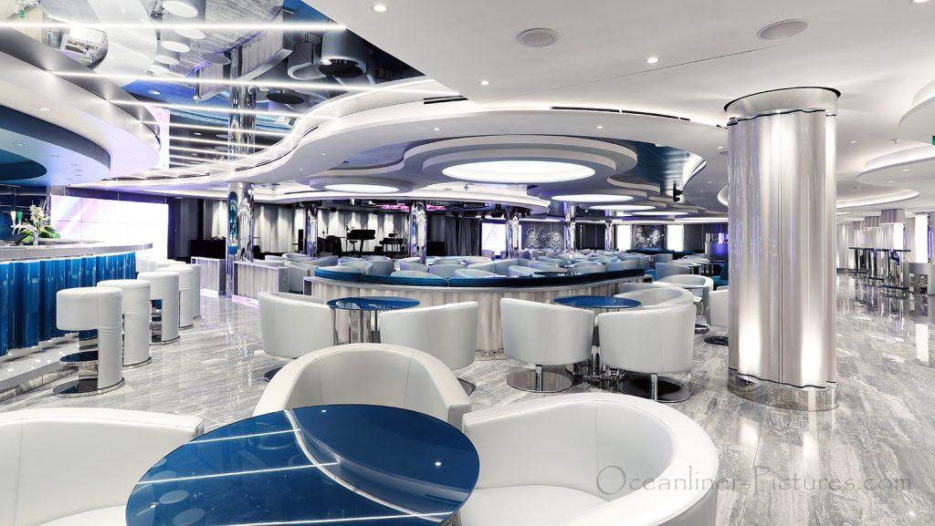 MSC Seaview Haven Lounge. / Foto: Oliver Asmussen/oceanliner-pictures.com