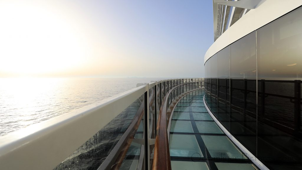 MSC Seaview Infinity Bridge. / Foto: Oliver Asmussen/oceanliner-pictures.com
