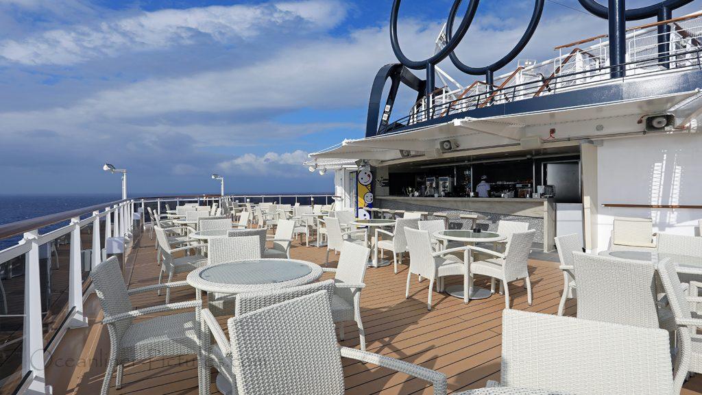MSC Seaview Miramar Bar. / Foto: Oliver Asmussen/oceanliner-pictures.com