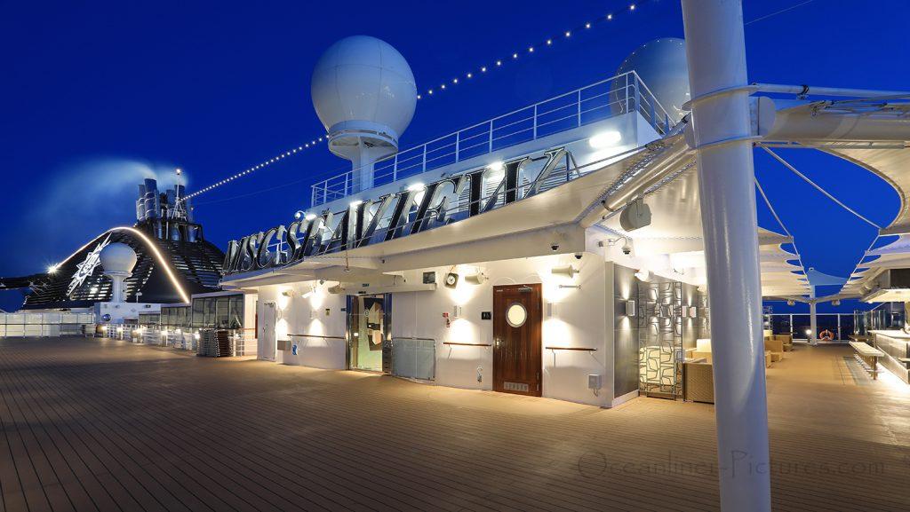 MSC Top 19 Aurea-Exklusiv-Sonnendeck MSC Seaview. / Foto: Oliver Asmussen/oceanliner-pictures.com