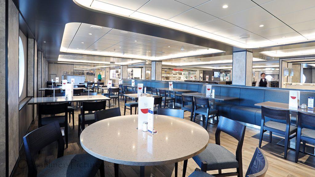 Marketplace Restaurant MSC Seaview. / Foto: Oliver Asmussen/oceanliner-pictures.com