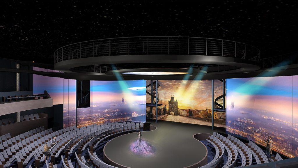 Das Theater an Bord der Celebrity Edge. Foto: Celebrity Cruises