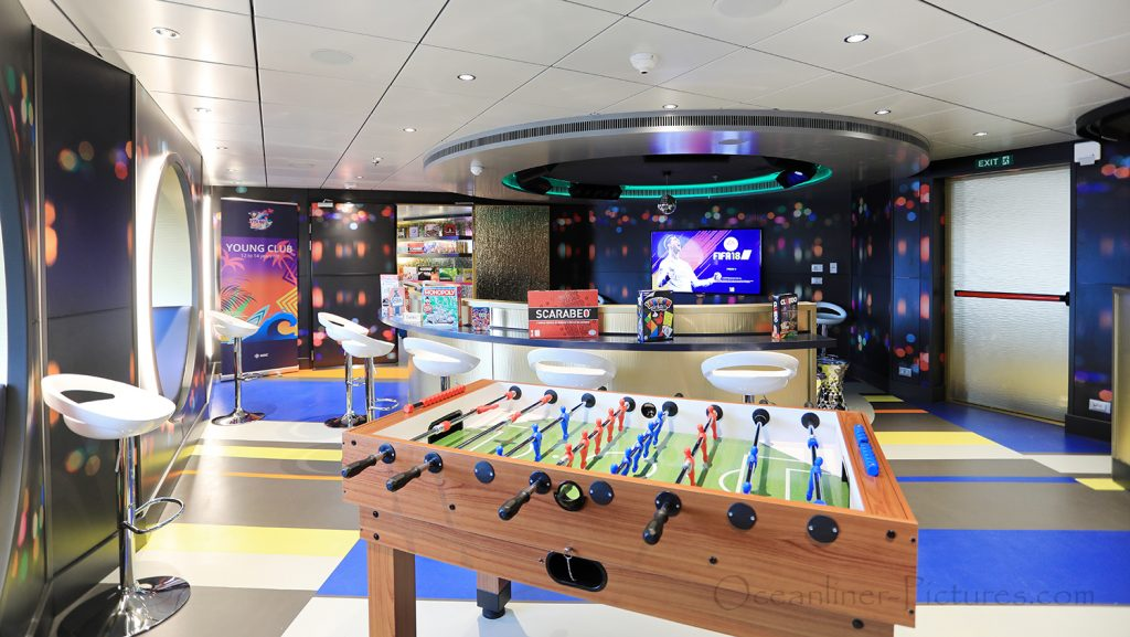 Young Club 12-14 MSC Seaview. / Foto: Oliver Asmussen/oceanliner-pictures.com