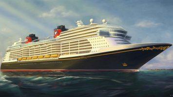 So werden die neuen Schiffe von Disney Cruise Line aussehen. Foto: Disney Cruise Line