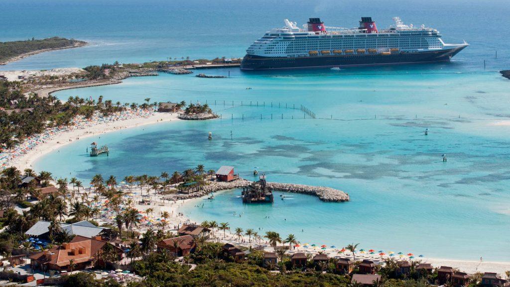Die Privatinsel Castaway Cay. Foto: Disney Cruise Line/David Roark