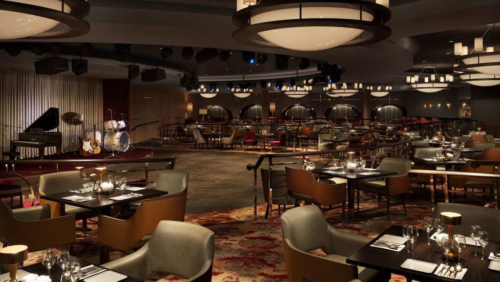 So wird der Stardust Club nach der Modernisierung aussehen. Foto: Crystal Cruises