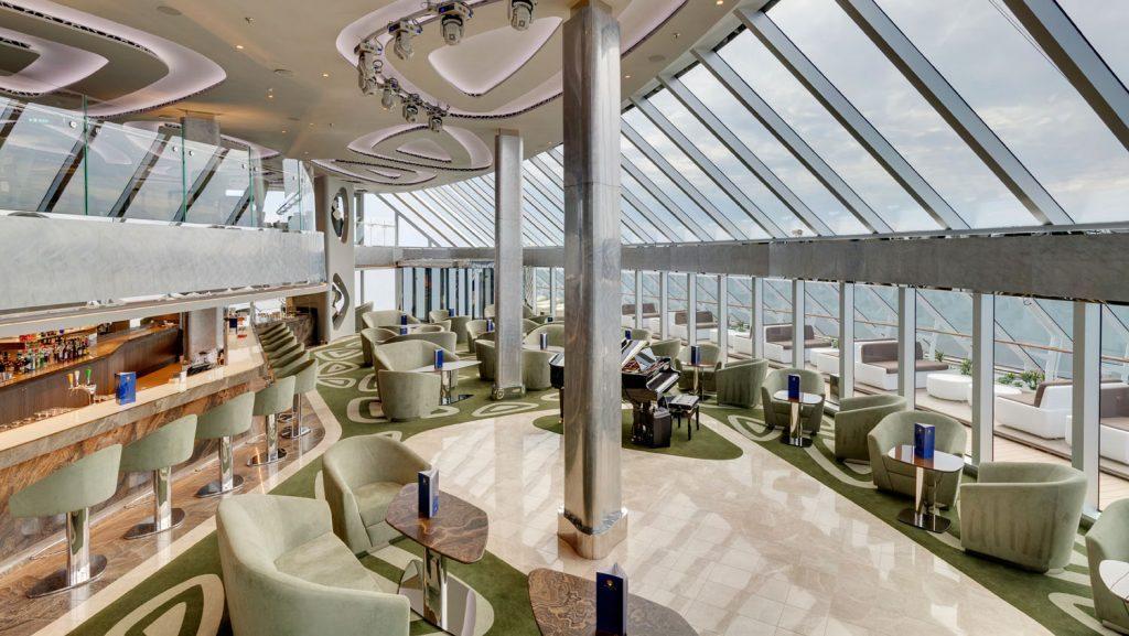 Wie bereits im MSC Yacht Club, hier auf der MSC Seaview, erwarten die Gäste Luxus pur an Bord der neuen Schiffe. Foto: MSC Kreuzfahrten