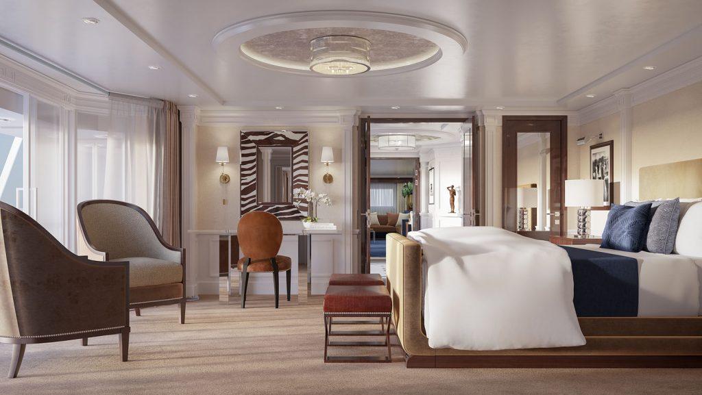 Blick in die Suiten. Foto: Oceania Cruises