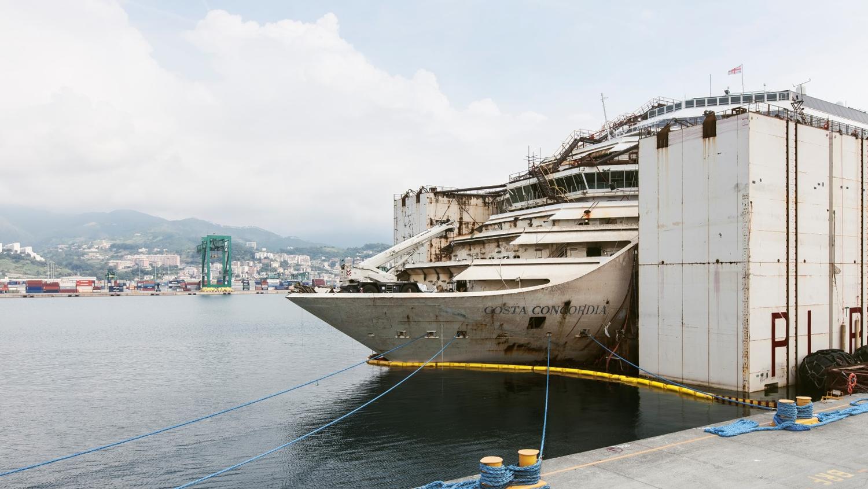 Schaurige Hinterlassenschaft Der Costa Concordia