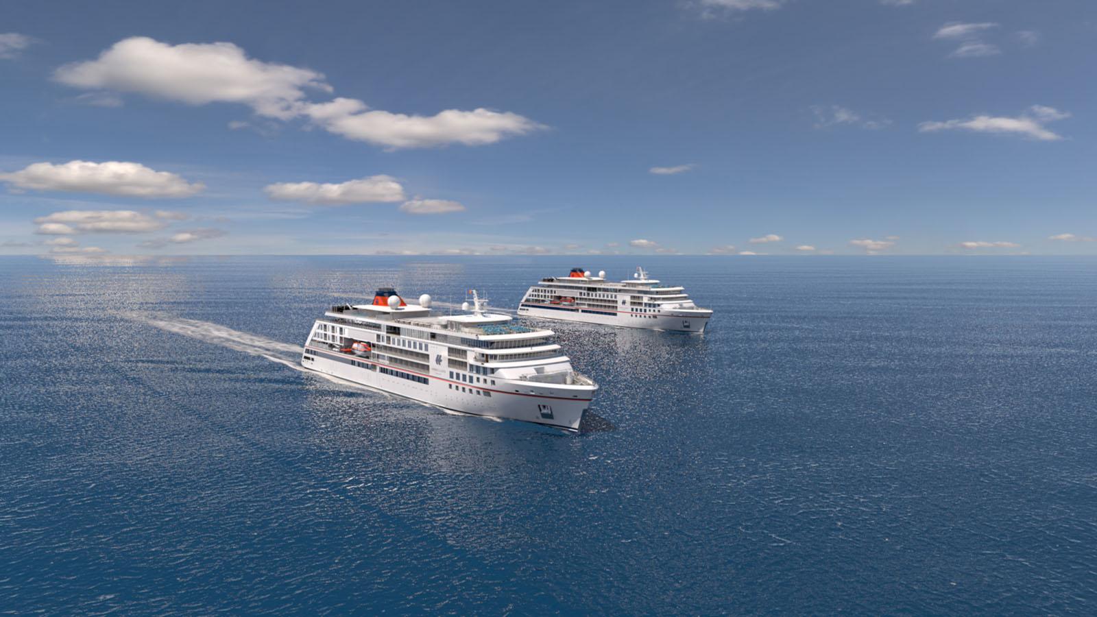 Erste Bilder von den neuen Schiffen
