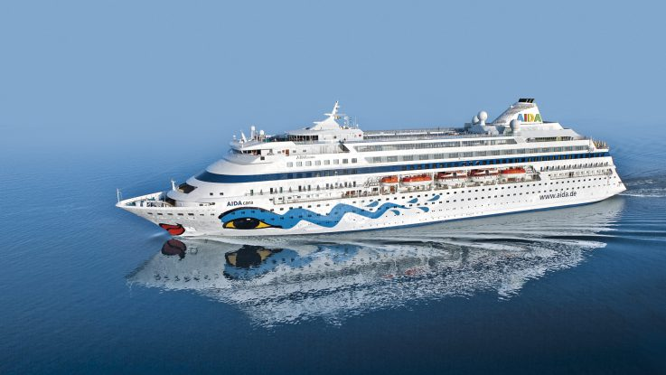 Die AIDAcara. Foto: AIDA Cruises